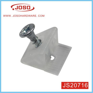 Hot Selling Triangle Holder with Pre Mounted Screw for Wardrobe