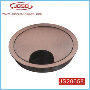 OEM Zinc Alloy Table Accessory of Wire Hoe Cover for Computer Desk