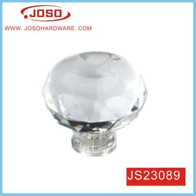 35mm Clear Crystal Cabinet Handle for Kitchen Cabinet