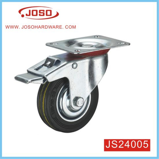 Solid Stem Plastic Caster Wheel for Chair