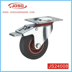 Plastic Caster Wheel with Brake for Cabinet