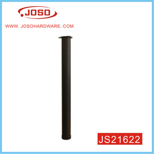 Black Round Steel Stube Furniture Leg For Table