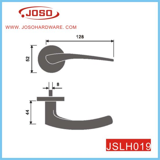 Slim Round Design Lever Handle for Door