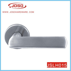 Modern Round Door Lever Handle for Hall