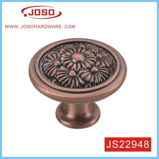 Creative Flower Style on The Top Door Knob for Cabinet
