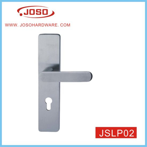 Popular Door Accessories of Lever Handle with Plate for Door
