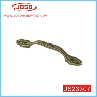 European Vintage Antique Brass Furniture Handle for Bedroom Drawer
