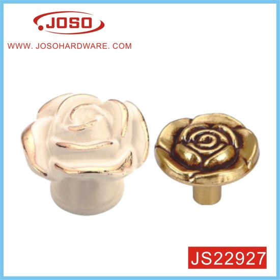 Rose Style Kitchen Drawer Knob in House