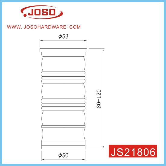 Adjustable Aluminium Furniture Parts of Cabinet Feet for Cabinet