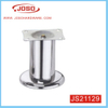 Matt Chrome and Bright Chrome Furniture Leg for Sofa