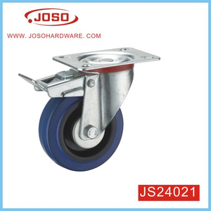 Blue Rubber Caster Wheel for Stock Cabinet