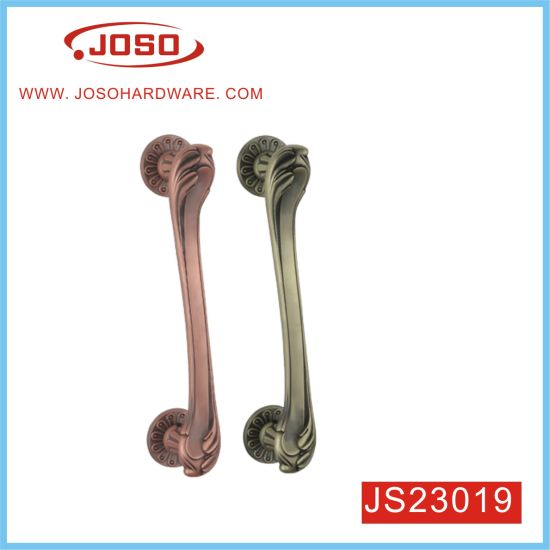 Big Aulic Noble Elegant Zinc Alloy Door Handle