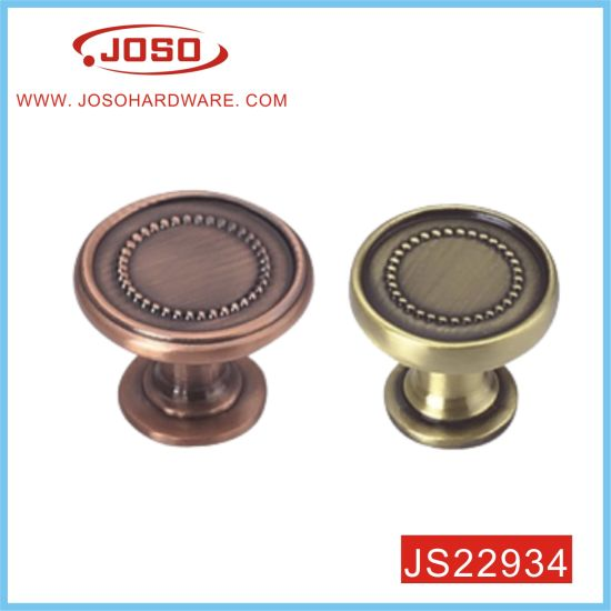 Antique Copper Round Cupboard Knob for Cabinet