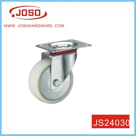 "3"" Gummi Fixed Castor for Trolley Furniture"