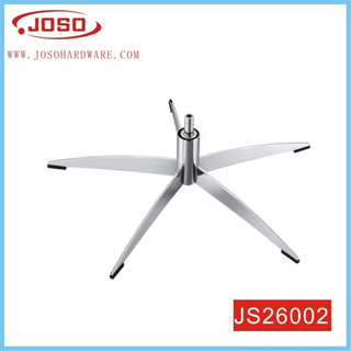 Iron Casting Chrome Plated Chair Base of Furniture Hardware