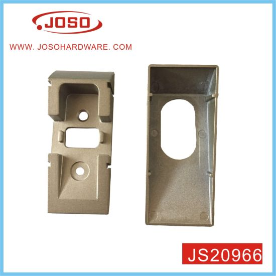 Bright Chrome Plated Wardrobe Rail Support for Cabinet of Hotel