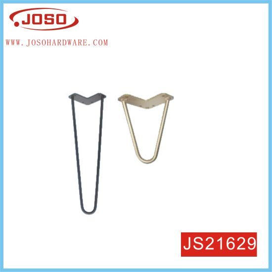 Modern 2 Rod Hairpin Customized Color Height Leg for Table